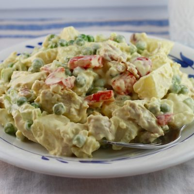 Creamy Chicken Potato Salad