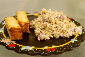 Curried Chicken and Pineapple Salad
