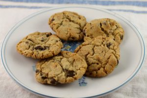 Browned Butter Toffee Chocolate Chip Cookies