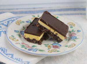 Nanaimo Bars No Bake Cookie recipe