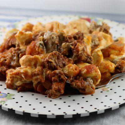 Sicilian Tortellini Bake