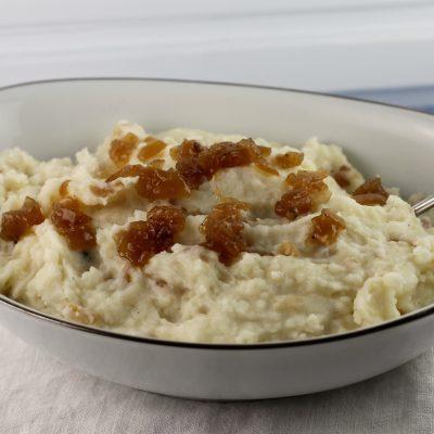 Caramelized Onion Mashed Potatoes