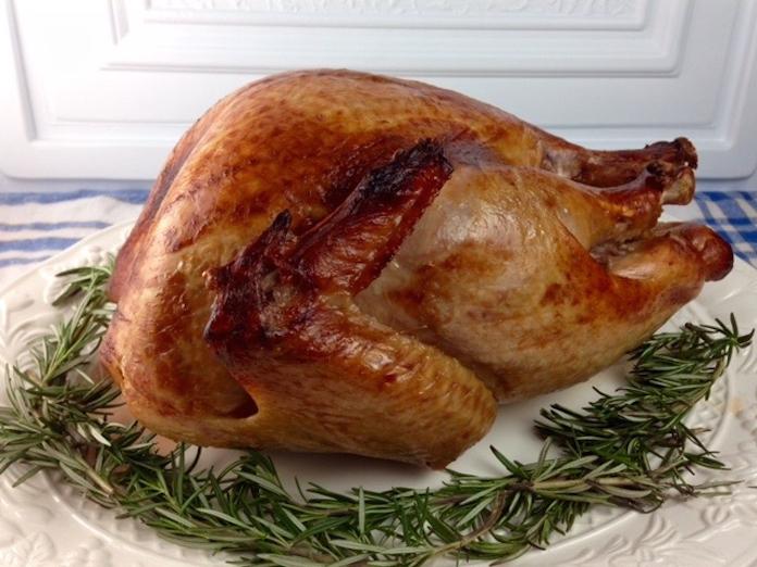 Maple Butter Glazed Turkey