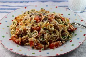 Turkey and Vegetable Spaghetti Recipe