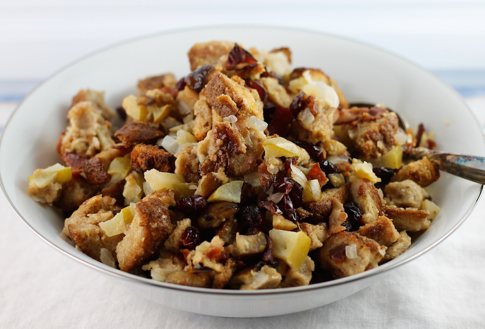 Chestnut Cranberry Stuffing
