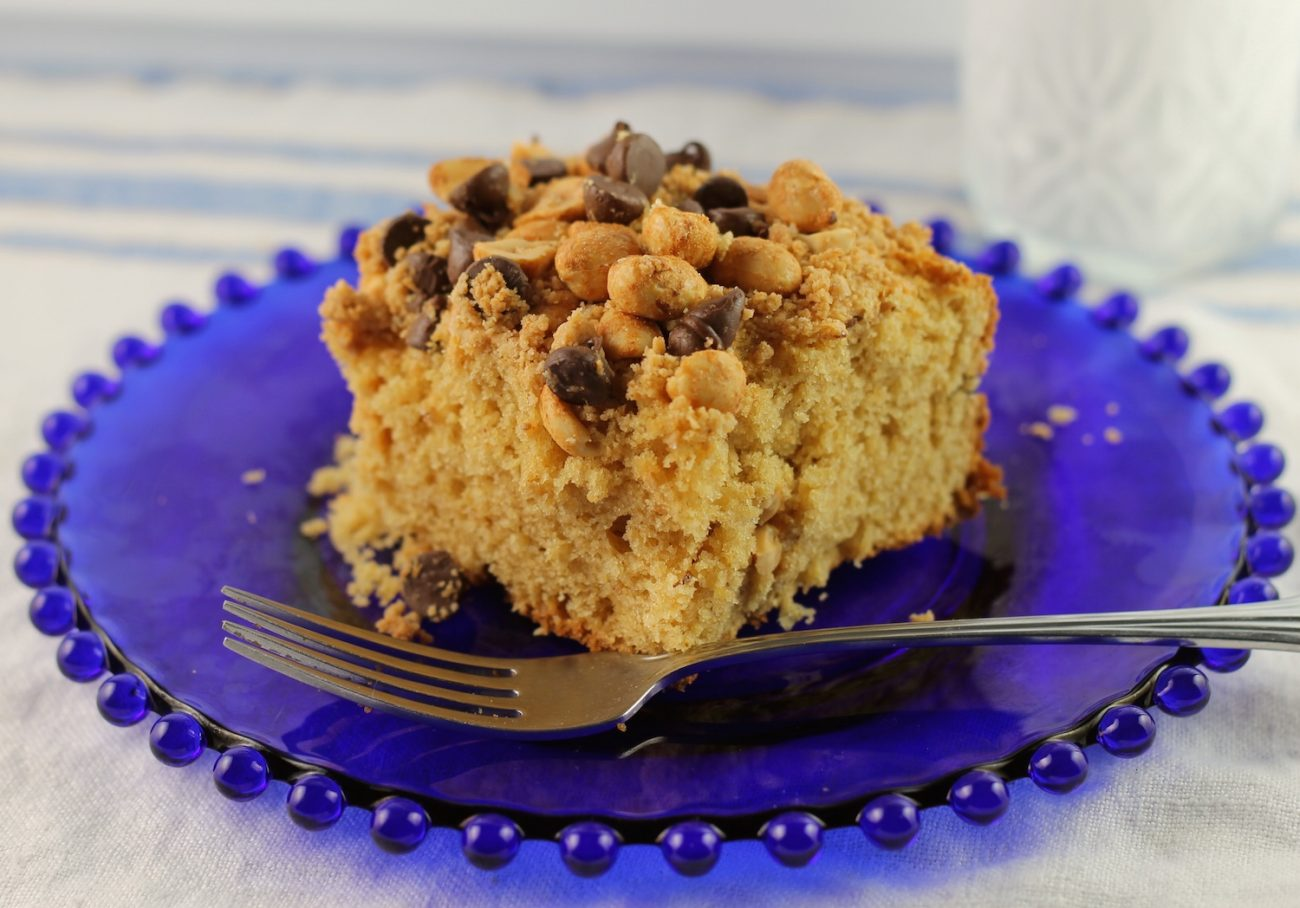 Peanut Butter Crunch Cake