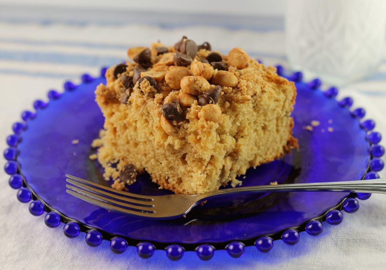 Peanut Butter Crunch Cake