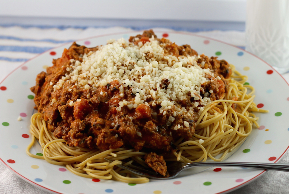 Wild Rice Bolognese Sauce