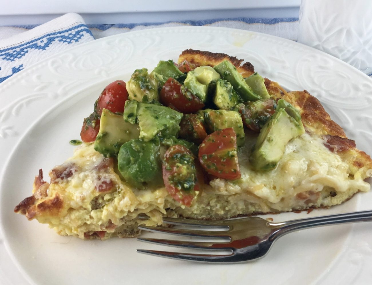 BLT Frittata (Without the L)