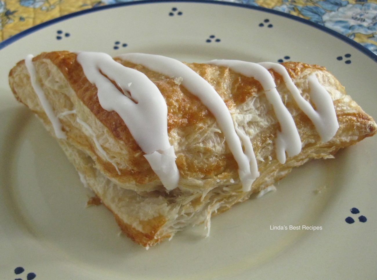 Easy Apple Cranberry Turnovers