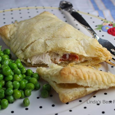 Chicken and Bacon in Puff Pastry