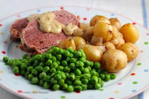 Corned Beef with Leeks and Little Potatoes