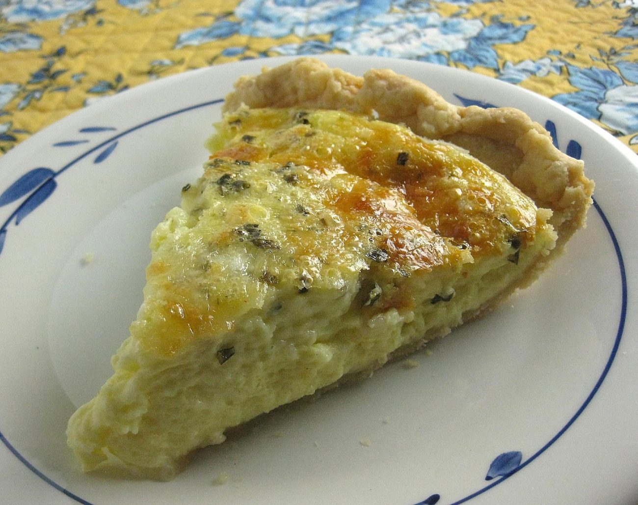 Fabulous Cheese Quiche