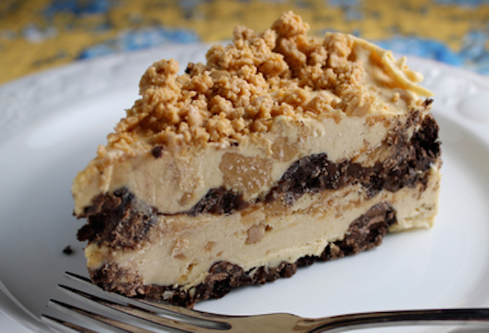 Frozen Peanut Butter Bomb Cake