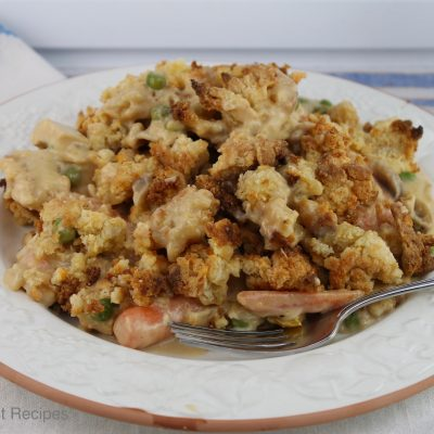 Chicken Streusel Casserole