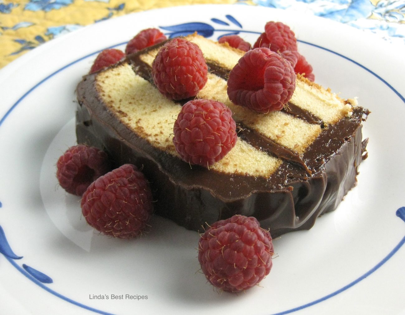 Chocolate Layered Pound Cake