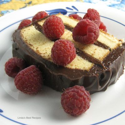 Chocolate Layered Pound Cake
