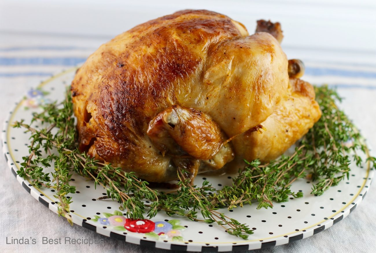 Garlic Herb Roast Chicken