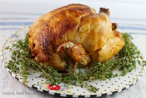 Herb and Garlic Roast Chicken