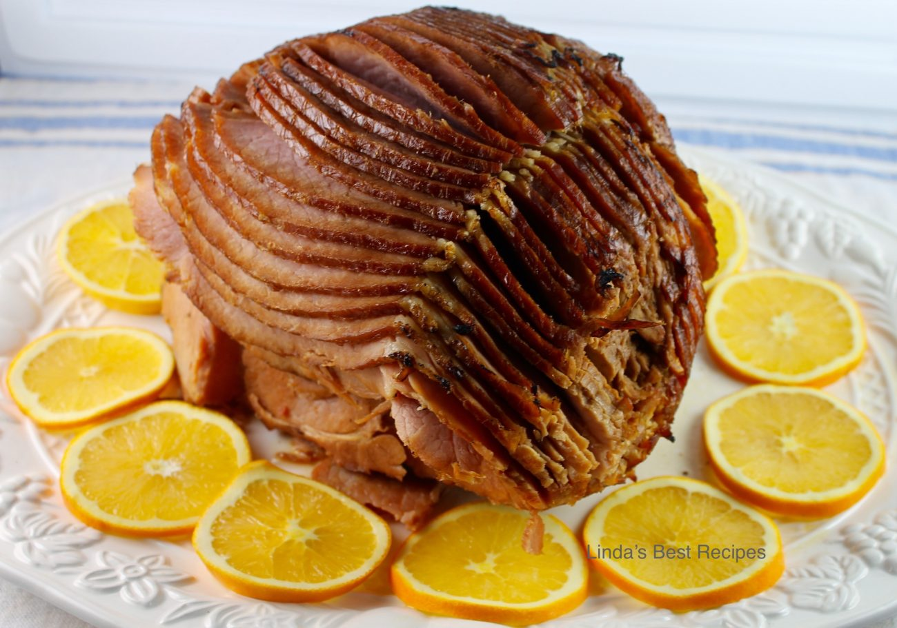 Honey Orange Glazed Ham