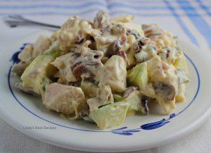 Apple Pecan Chicken Pasta Salad