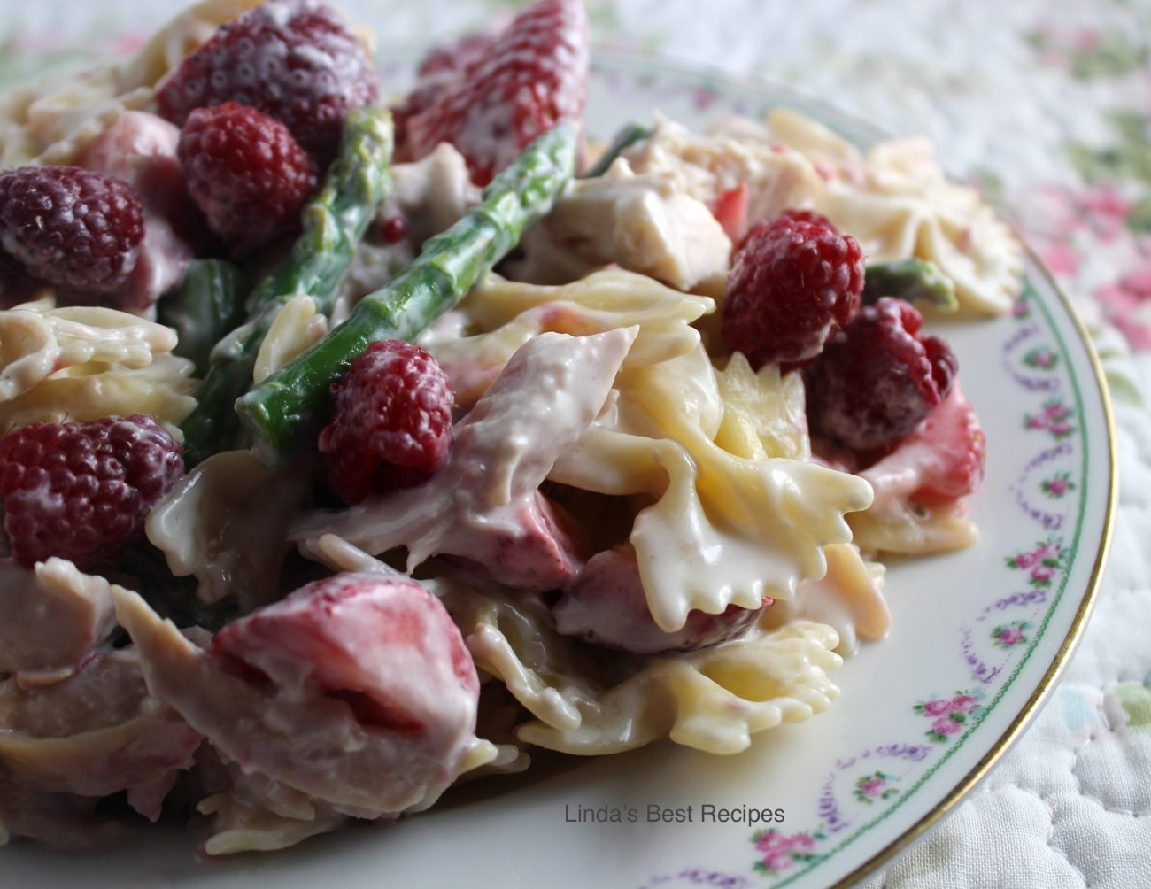 Berry and Mint Chicken Salad