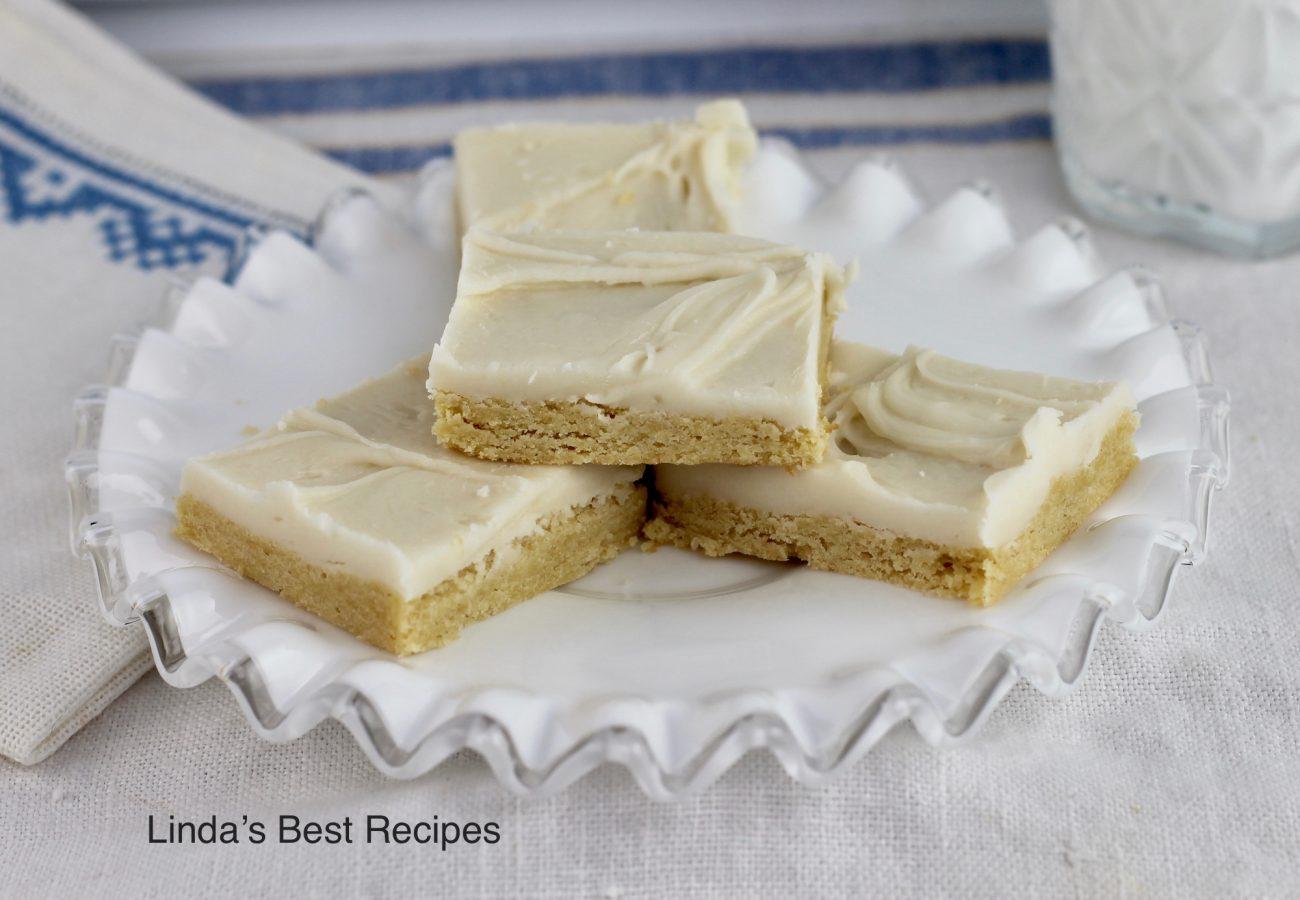 Caramel Cream Bar Cookies