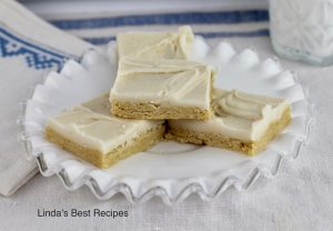 Brown Butter Frosted Caramel Bars