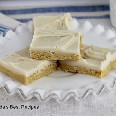 Caramel Cream Bars