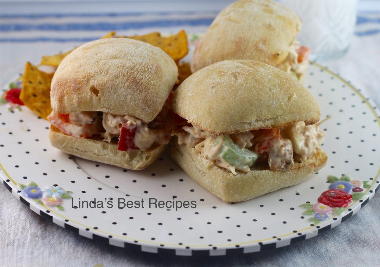 Easy Chicken Veggie Sandwiches