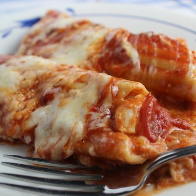 Chicken Stuffed Pasta Shells