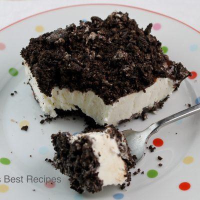 Frozen Cream Cheese Pudding Dessert Recipe