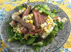 Grilled Steak and Veggie Salad