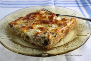 Beef Cheese Pan Quiche Recipe