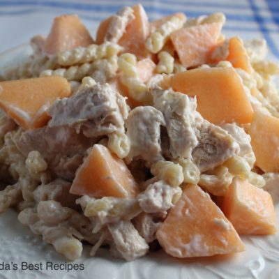 Chicken Melon Bacon Salad