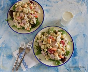 Chicken and Ham Pasta Salad