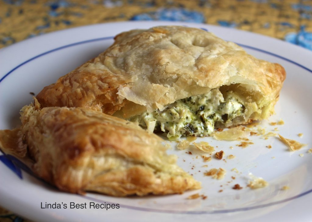 Pesto Chicken in Puff Pastry