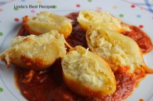 Creamy Stuffed Large Pasta Shells