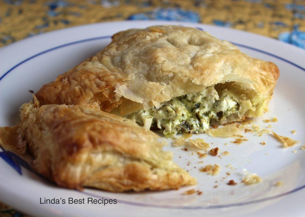 Pesto Chicken in Puff Pastry