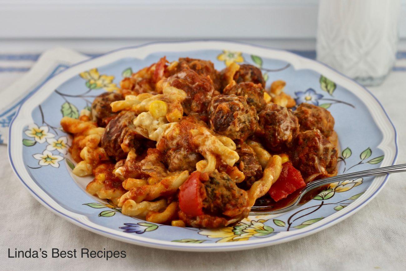 Sicilian Meatball Supper