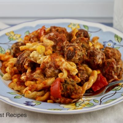 Sicilian Meatball Supper