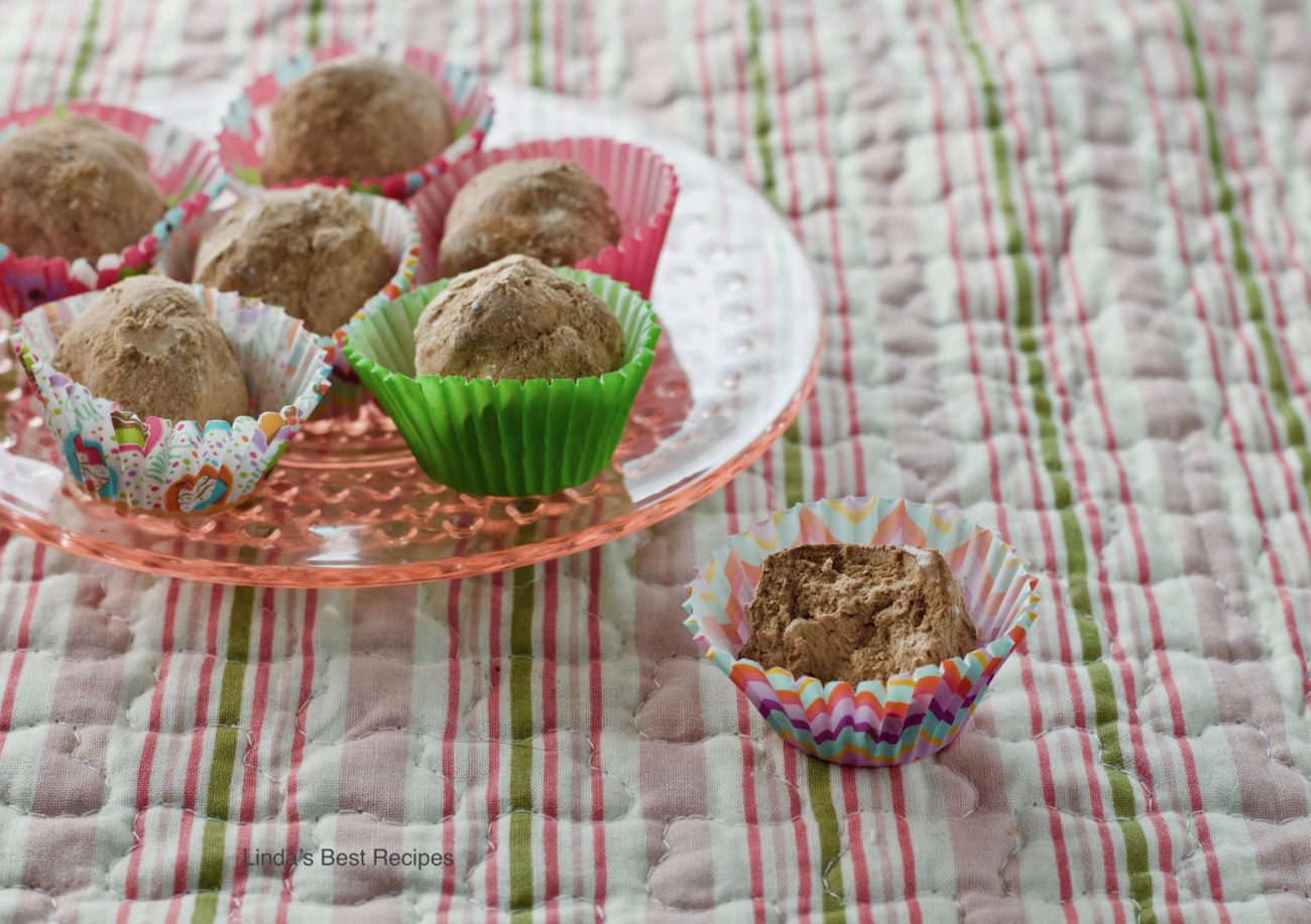 Whipped Cream Truffles