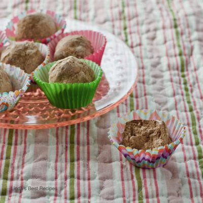 Whipped Cream Chocolate Truffles Recipe
