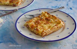Ham and Cheese Quiche Pie