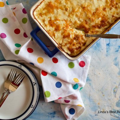 Scalloped Hash Browns