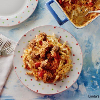 Sicilian Meatball Supper 5