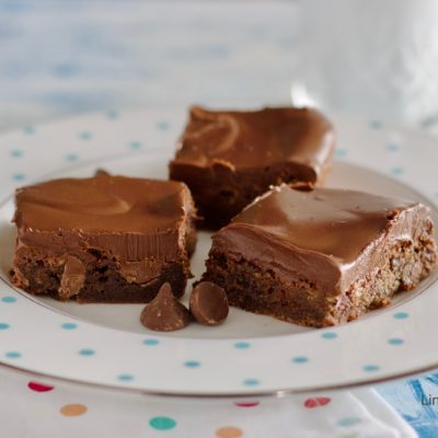 Chocolate Peanut Butter Chewy Bars 2