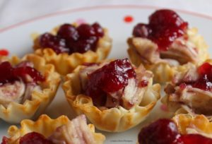 Mini Cranberry Phyllo Shells