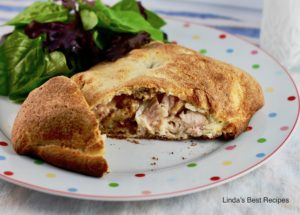 Turkey and Stuffing Foldover Pastry
