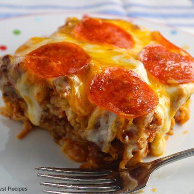 Pizza Spaghetti Style LBR